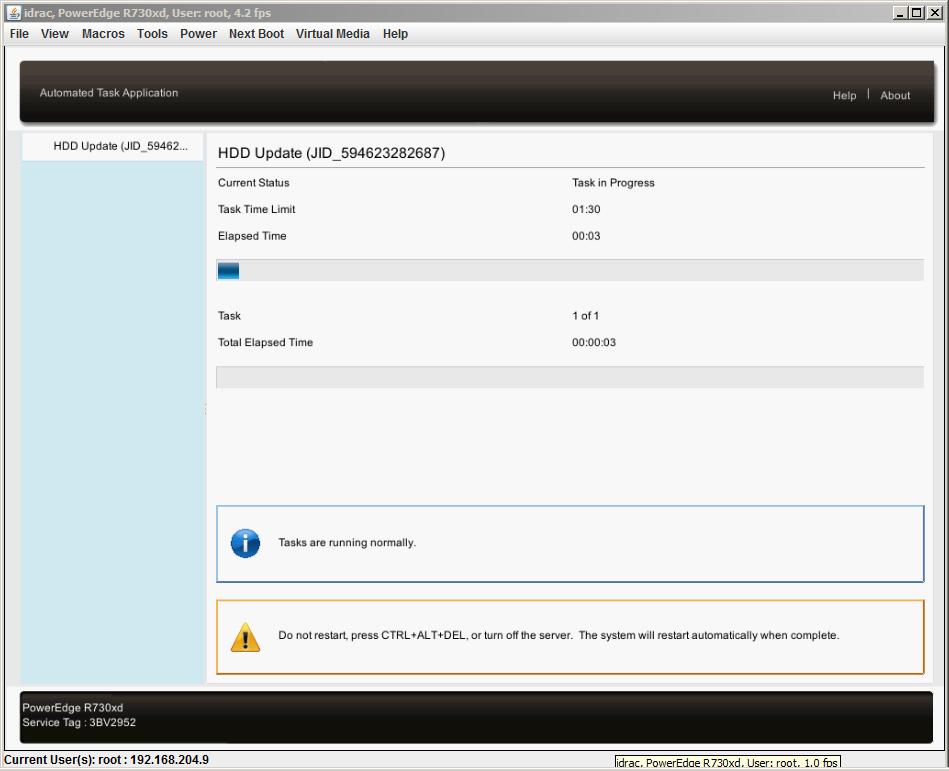 ftp dell com direct iDRAC update – MAJ - Hypervisor fr